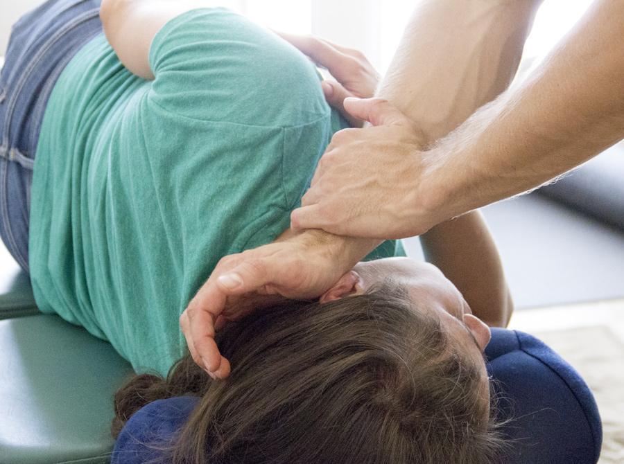 QSM3 Adjustment - Longevity Chiropractic - Lake Forest,CA